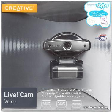Web-Камера Creative WebCam Live!Cam Voice (70VF017000003)