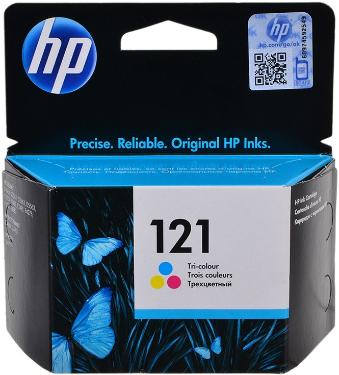 Картридж HP ink №121 Color [CC643HE]