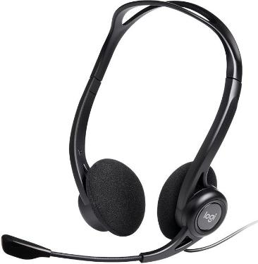 Гарнитура Logitech PC Headset 960 USB [981-000100]