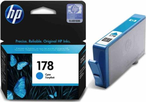 Картридж HP ink №178 Cyan [CB318HE]