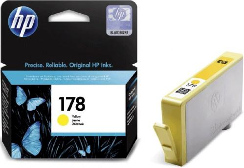 Картридж HP ink №178 Yellow [CB320HE]