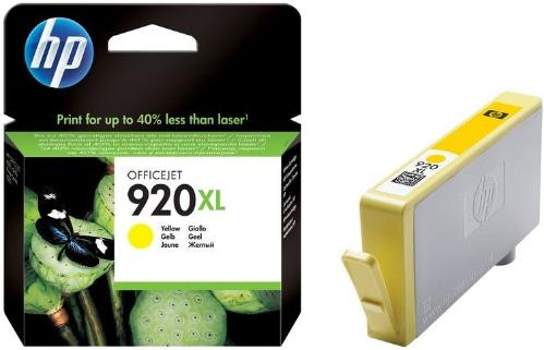 Картридж HP ink №920XL Yellow [CD974AE]
