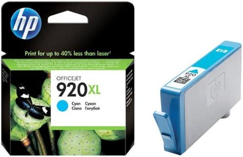 Картридж HP ink №920XL Cyan [CD972AE]