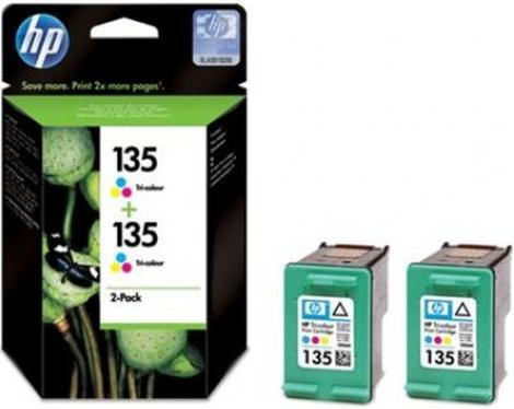 Картридж HP ink №135 Color 2-pack [CB332HE]