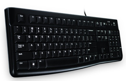 Клавиатура Logitech K120 English. Black USB [920-002479]