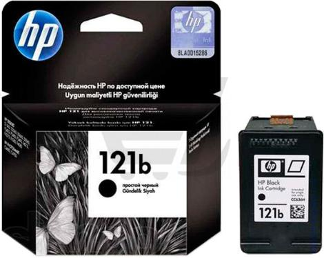 Картридж HP ink №121 Black simple [CC636HE]