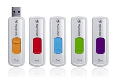 Флеш-память USB Transcend 4GB JetFlash 530 White [TS4GJF530]