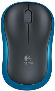 Мышь Logitech M185 Blue Wireless [910-002239]