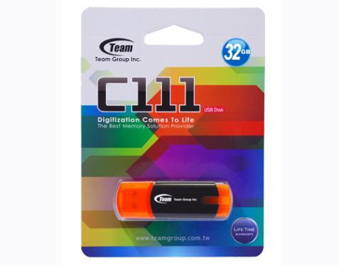 Флеш-память USB Team 32GB C111 Orange [TC11132GE01]
