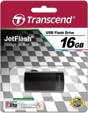 Флеш-память USB Transcend 16GB Jetflash 560 Black [TS16GJF560]
