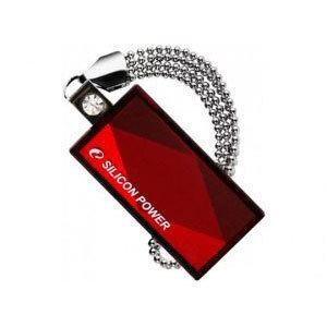Флеш-память USB Silicon Power 32GB Touch 810 Red [SP032GBUF2810V1R]