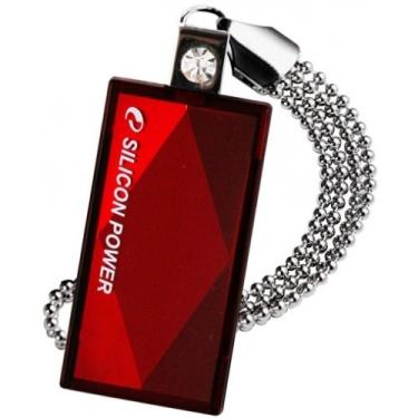 Флеш-память USB Silicon Power 8GB Touch 810 Red [SP008GBUF2810V1R]