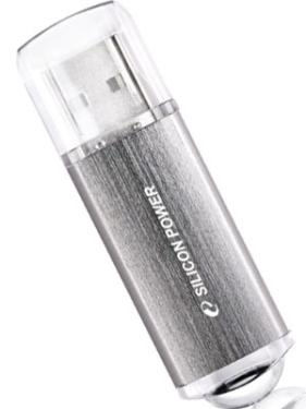 Флеш-память USB Silicon Power 8GB UltimaII I-series Silver [SP008GBUF2M01V1S]