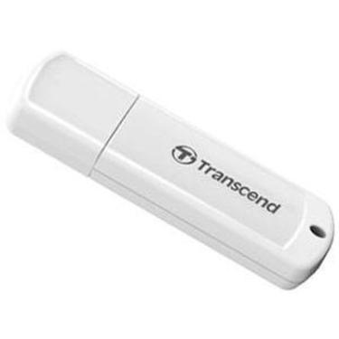 Флеш-память USB Transcend 64GB JetFlash 370 White [TS64GJF370]