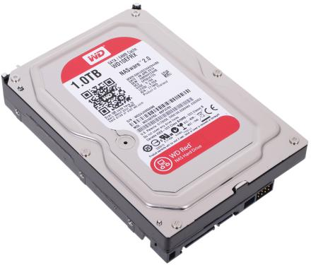 Жесткий диск 3,5' Western Digital 1TB NASware Red [WD10EFRX]