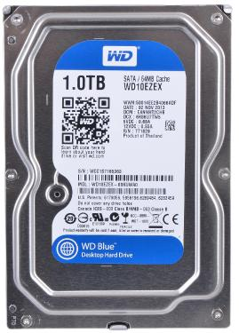 Жесткий диск 3,5' Western Digital 1TB Blue [WD10EZEX]
