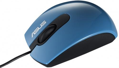 Мышь ASUS UT210 Royal Blue USB [90-XB1C00MU00600-]