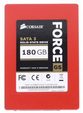 Накопители SSD CORSAIR 180GB GS Force Series [CSSD-F180GBGS-BK]