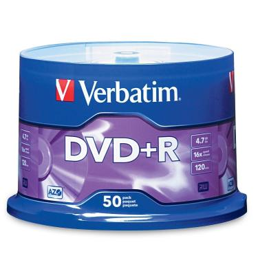 Диск CD-R Verbatim 700Mb 52x Bulk 50 pcs [43728]