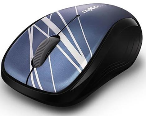 Мышь Rapoo 3100р Wireless Blue