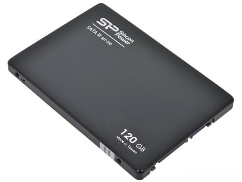 Накопители SSD Silicon Power 120GB S60 [SP120GBSS3S60S25]