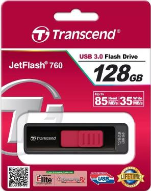 Флеш-память USB Transcend 128GB Jetflash 760 USB3.0 [TS128GJF760]