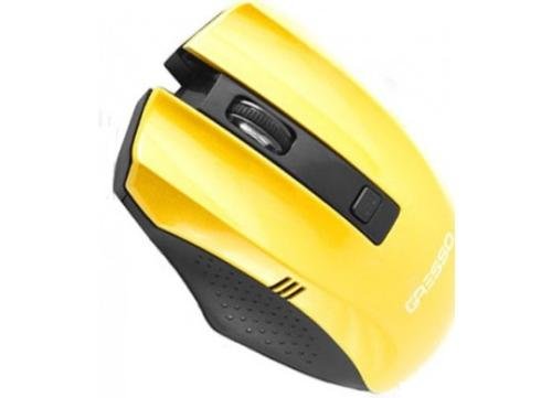 Мышь GRESSO GM-896G Wireless Yellow