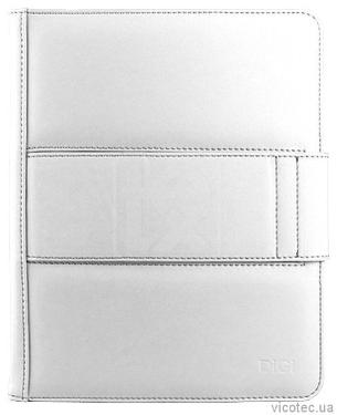 Чехол для планшета DIGI iPad Signature Leather Folio White