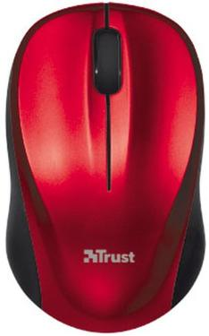 Мышь TRUST Vivy Wireless Mini Red [18477]