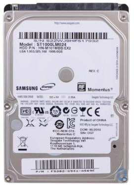 Жесткий диск 2,5' Seagate 1TB Spinpoint M8 [ST1000LM024]