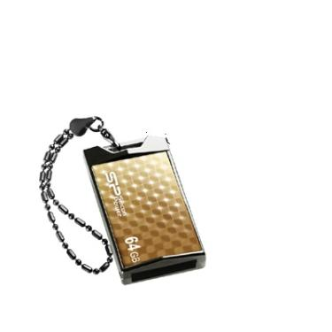 Флеш-память USB Silicon Power 32GB Touch 851 Gold [SP032GBUF2851V1G]