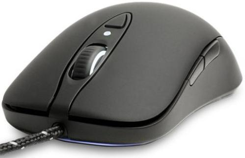 Мышь SteelSeries Sensei RAW Rubberized Black [62155]