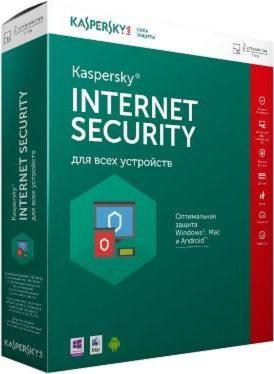 "Программное обеспечение ""коробка"" Kaspersky Internet Security Box 2Dt 12 Month Base Russian Edition"