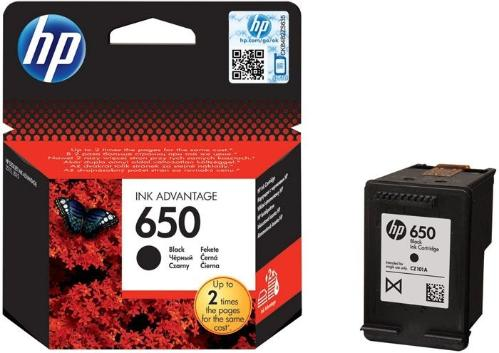 Картридж HP ink №650 Black [CZ101AE]