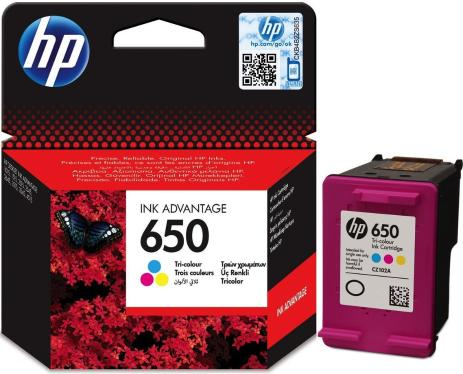 Картридж HP ink №650 Color [CZ102AE]