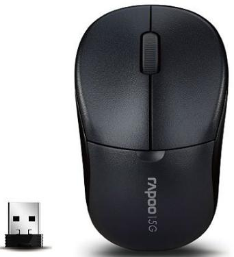 Мышь Rapoo 1090p Grey Wireless
