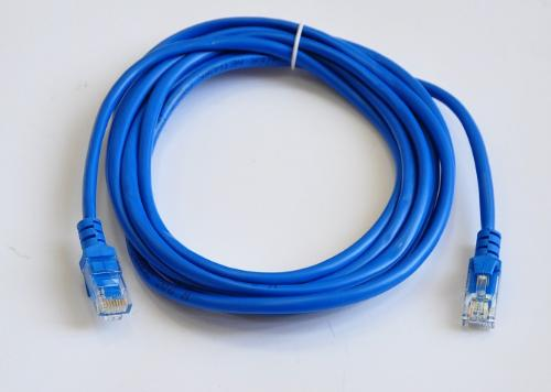 Патч-корд Atcom UTP Cat.5e 3m Blue [9162]