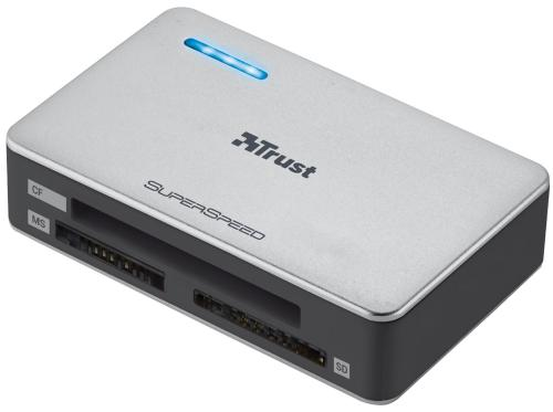 Кардридер внешний TRUST SuperSpeed USB3.0 [18409]