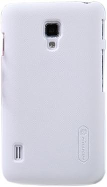 Чехол для смартфона NILLKIN LG L7II Duos Super Frosted Shield White