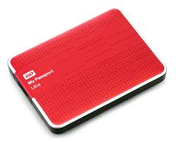 Жесткий диск внешний 2,5' Western Digital 500GB My Passport Ultra Red [WDBLNP5000ARD-EEUE]