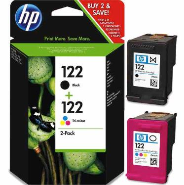 Картридж HP ink №122 black+color  Combo Pack [CR340HE]