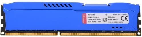Память для настольного ПК DDR3 KINGSTON 8GB DDR3-1600MHz HyperX FURY Blue [HX316C10F/8]