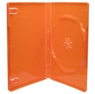 Бокс для к/дисков OEM 1 DVD 14mm  Orange