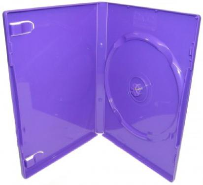 Бокс для к/дисков OEM DVD-box 14mm  Violet