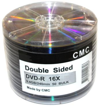 Диск DVD+R CMC 9,4 GB 16x CB/45 Double Sided