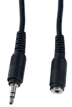 Кабель AUDIO Perfeo Extention DC 3.5 M-F 10m