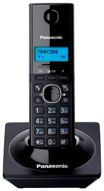 Телефон Panasonic KX-TG1711RUB, черный