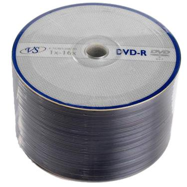 Диск DVD-R VS 4,7GB 16x Bulk/50