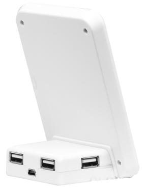 USB - хаб Konoos UK-09 PhotoFrame White