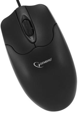 Мышь GEMBIRD MUSOPTI8 -920 Black PS/2